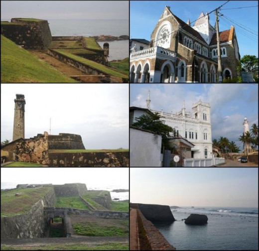 Pictured of Galle Fort