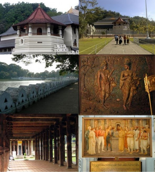 Pictures of Kandy and Temple of Tooth relic