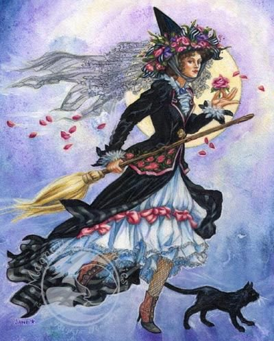 Victorian Witch by Jane Starr Weils, used with permission