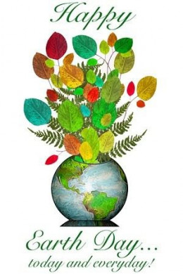 Happy Earth Day Bouquet - Courtesy greenclipart.com