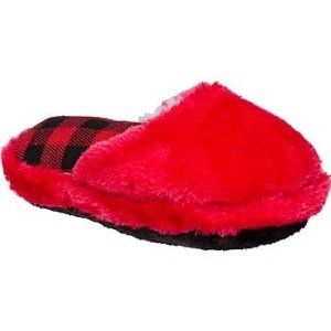 Red slipper plush toy for dogs is a winning gift