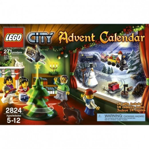 Celebrate Advent and play the whole year with the LEGO City Theme 2011