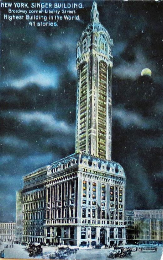 The Historic Singer Building, New York.