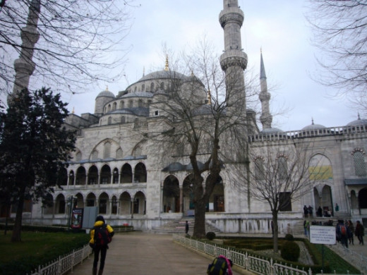 Istanbul Blue Mosque North Entrance