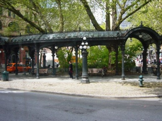 Pioneer Square Pergola Seattle