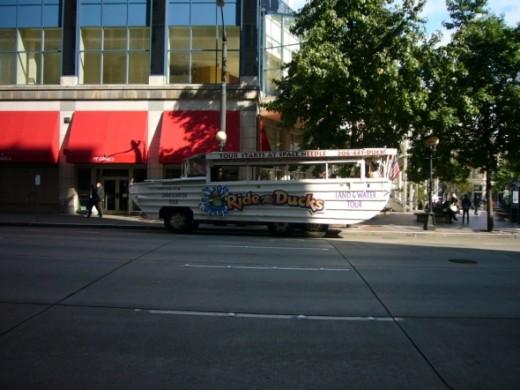 Seattle Ride the Ducks at Westlake Center