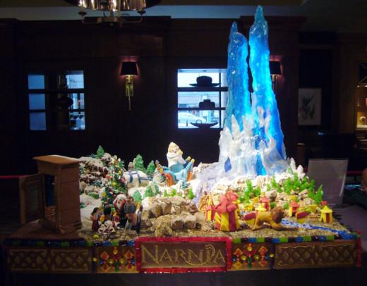 Narnia's Snow Queen Castle