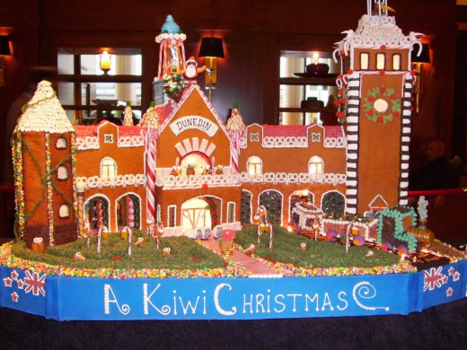 Kiwi Christmas Gingerbread 2011