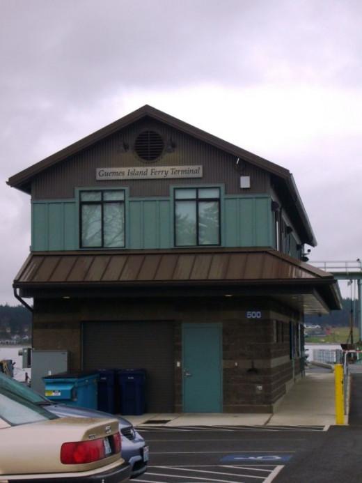 Guemes Island Ferry Dock - Anacortes, WA