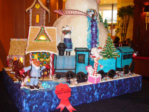 Island of Misfit Toys Train - North Pole