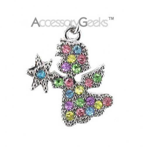 Angel-Phone-Charm-Multicolored