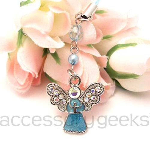 Blue-Praying-Angel-Phone-Charm