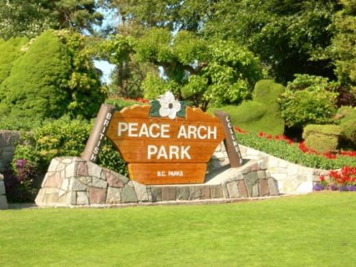 Peace Arch Park British Columbia, Canada