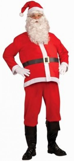 Disposable Santa Costume