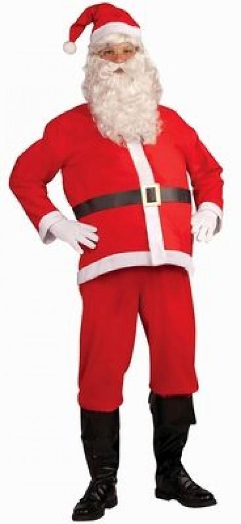 Disposable Santa Costume