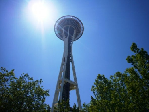 The Space Needle - Seattle, WA