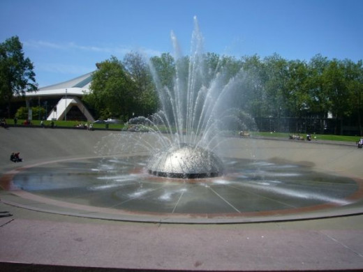 The Seattle Center International Fountain