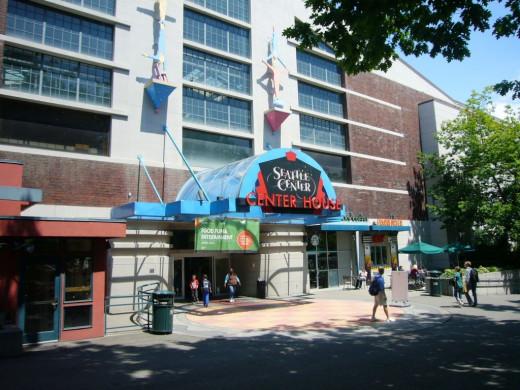 Seattle Center House Entrance