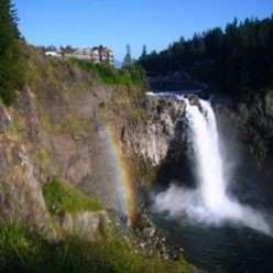 Snoqualmie Falls and Salish Lodge