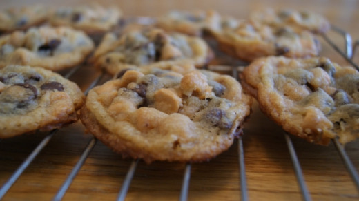Double Stuffed Chocolate Chip Cookies