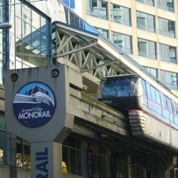 Seattle's Westlake Center Monorail Station