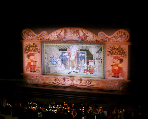 Stage at the Pacific NW Ballet Nutcracker
