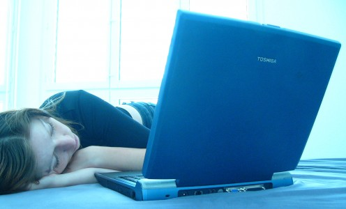 Your reader fell asleep. Don't let this happen!  Photo courtesy len-k-a, sxc.hu