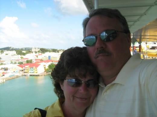 Our Antigua Selfie!