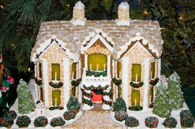 Gingerbread Houses Can Be Elaborate Or Simple