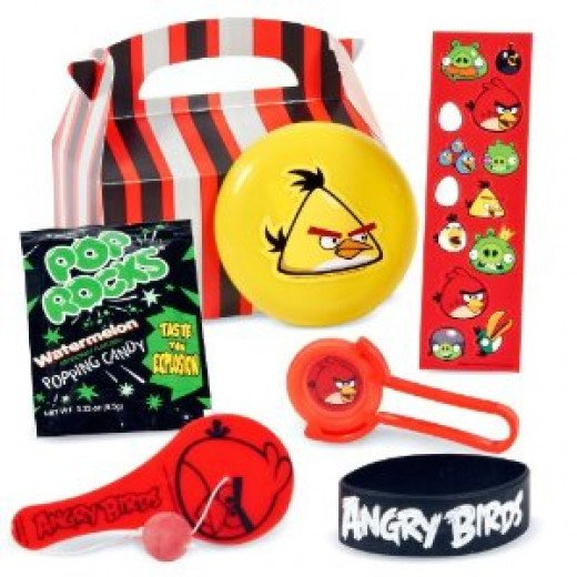 Angry Birds Favor Boxes