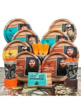 Duck Dynasty party supplies pack