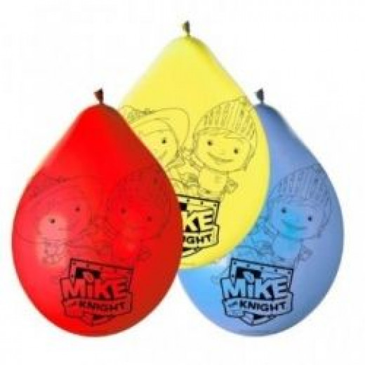 Mike the Knight Latex Balloons - Pack of 6