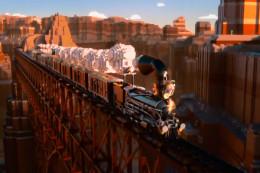 wild wild west train scene