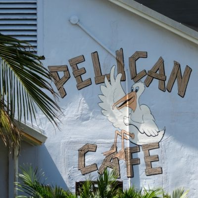 Pelican Cafe on the Waterfront