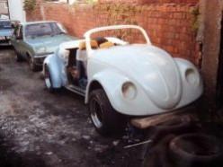 VW Beetle Wizard Roadster - Part 5