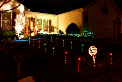 Santa Land Display