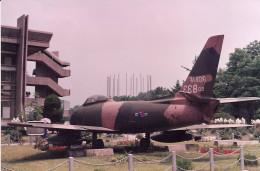 A Republic of Korea Air Force, F-86 Sabre, June 1991.