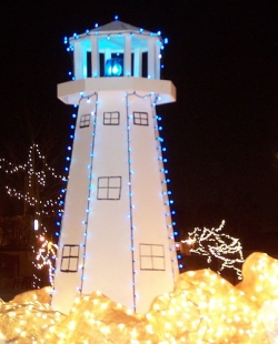 Lighthouse Christmas Decor
