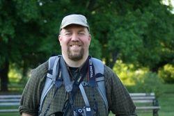 Naturalist Mark Glenshaw
