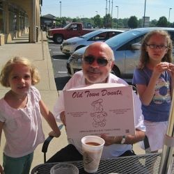 Grandpa and Donut Buddies