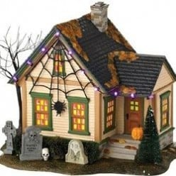 Halloween Village Houses by Department 56 for Decorating and Collecting