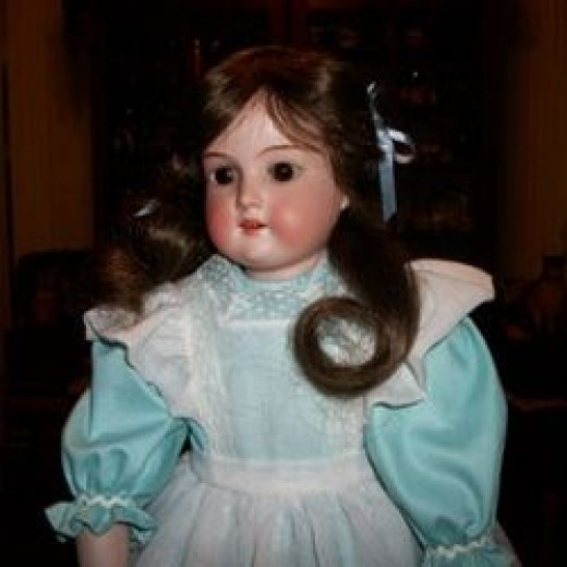 My Mom's Restored Antique Doll