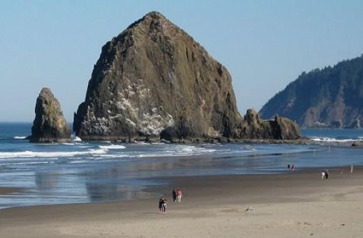 haystack off the Oregon Coast