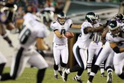 Philadelphia Eagles punter Donnie Jones