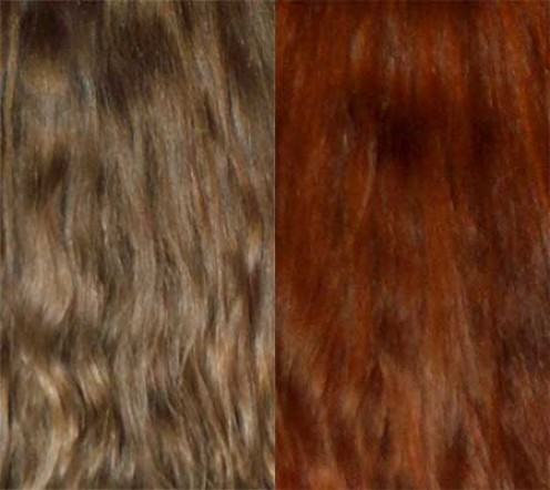 Henna Hair Dye Before and After