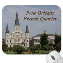 Historic Buildings including the Saint Louis cathedral