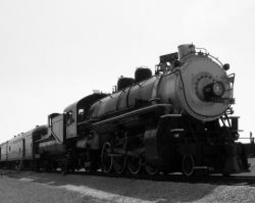 This is the last operating steam engine made in Louisiana.