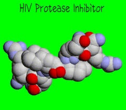 The protease inhibitor is treat HIV.