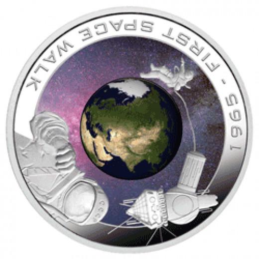 Cook Island Orbiter Coin