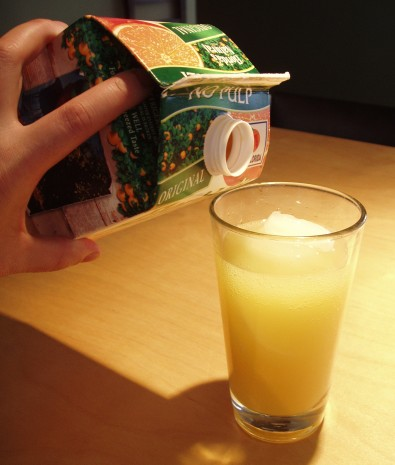 #3 - Fill to Top With Orange Juice